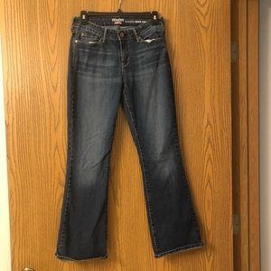 Denizen from Levi's Modern boot cut blue jeans